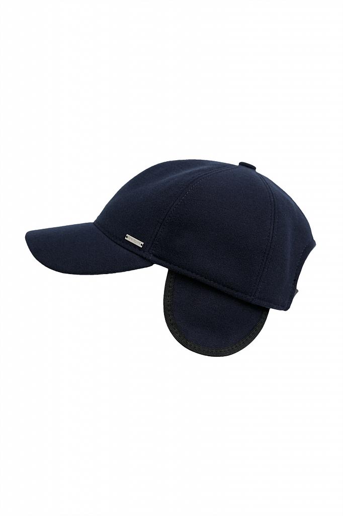 кепи мужское Finn-Flare темно-синего цвета