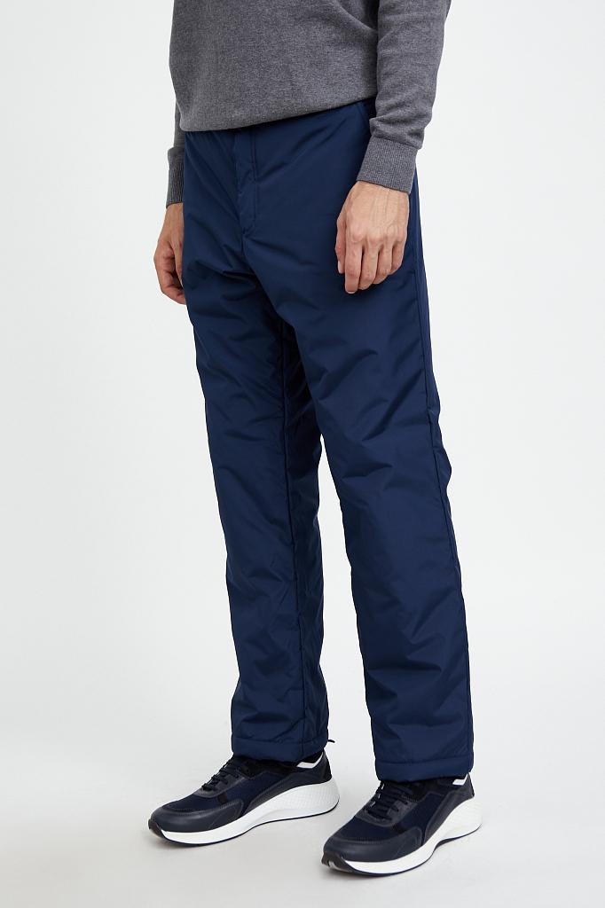 Фото 2 - брюки мужские темно-синего цвета