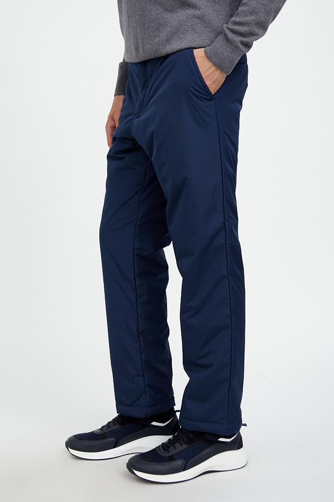 Фото 3 - брюки мужские темно-синего цвета