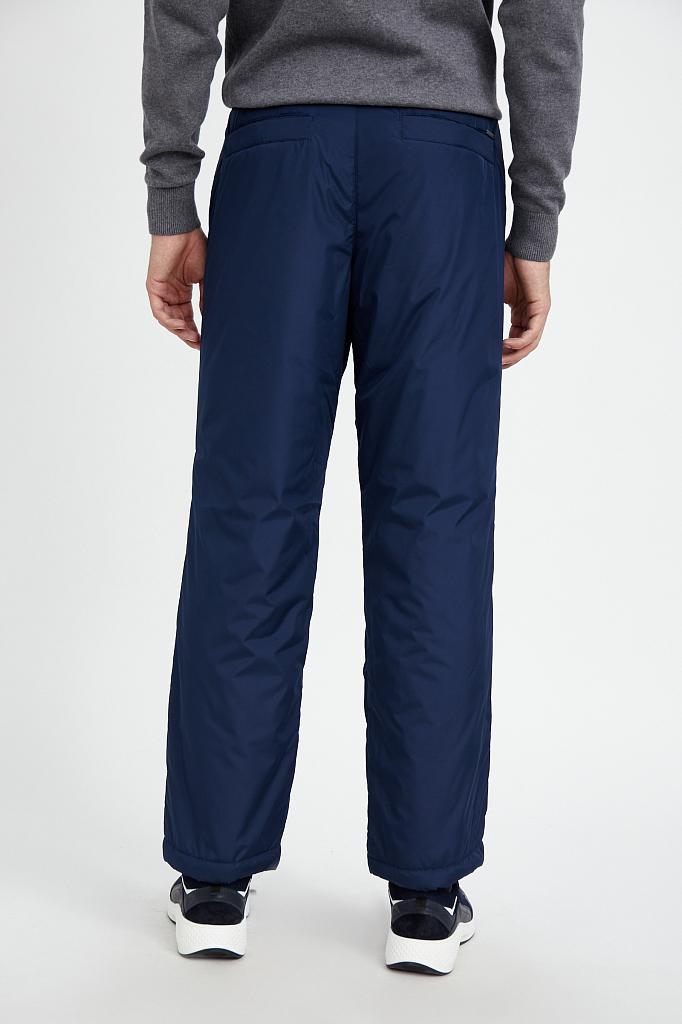 Фото 4 - брюки мужские темно-синего цвета