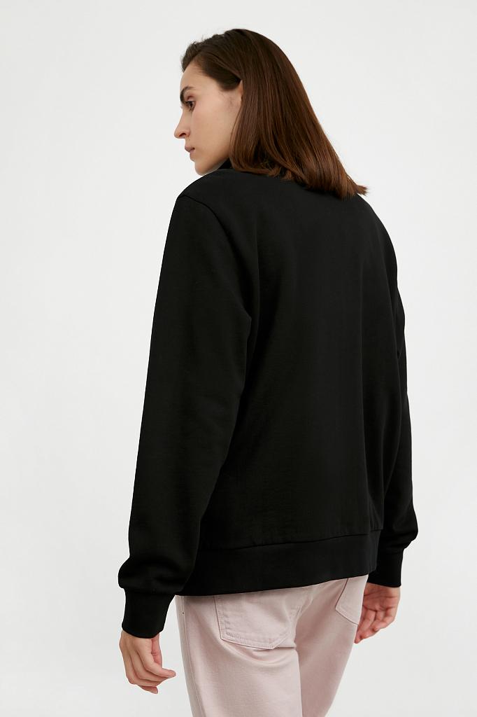 Фото 4 - жакет женский черного цвета