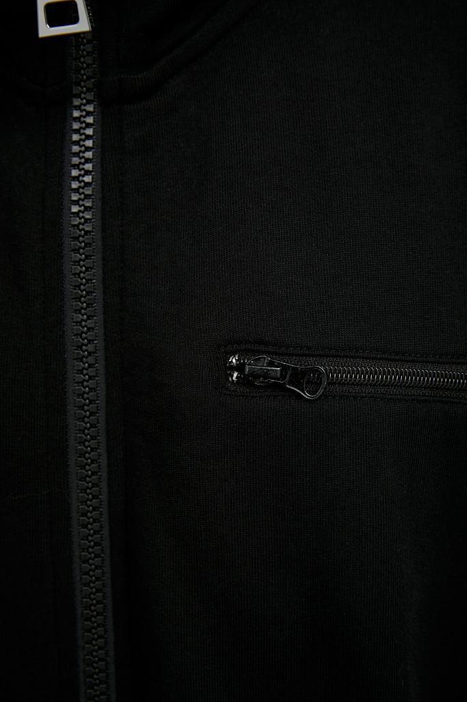 Фото 5 - жакет женский черного цвета
