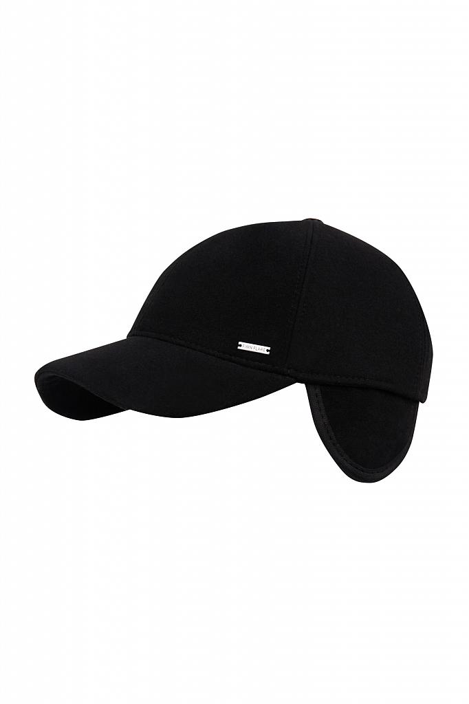 кепи мужское Finn-Flare черного цвета
