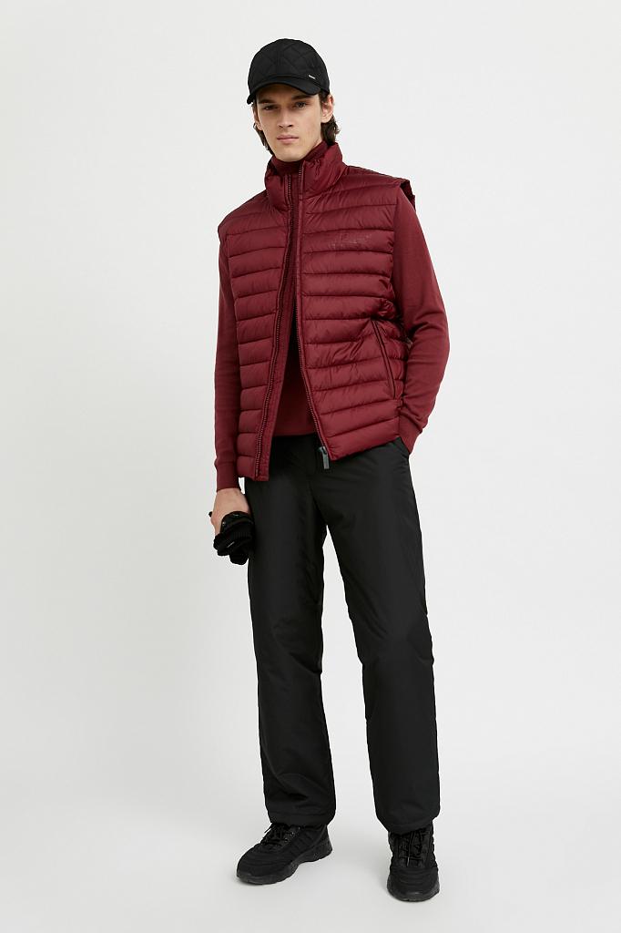 брюки мужские Finn-Flare черного цвета