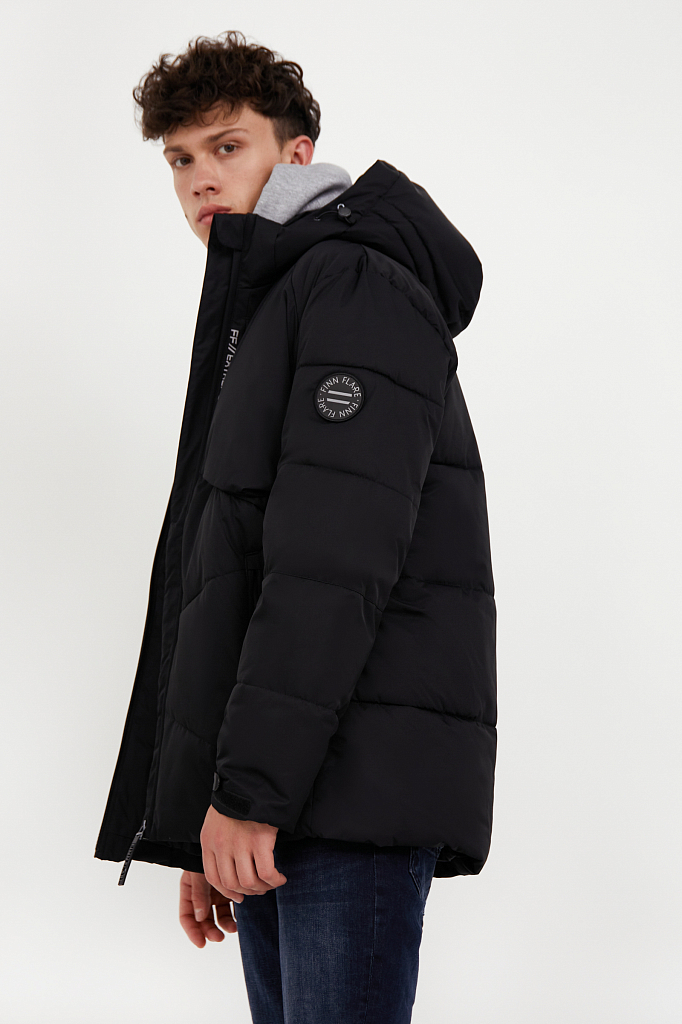 куртка мужская Finn-Flare черного цвета