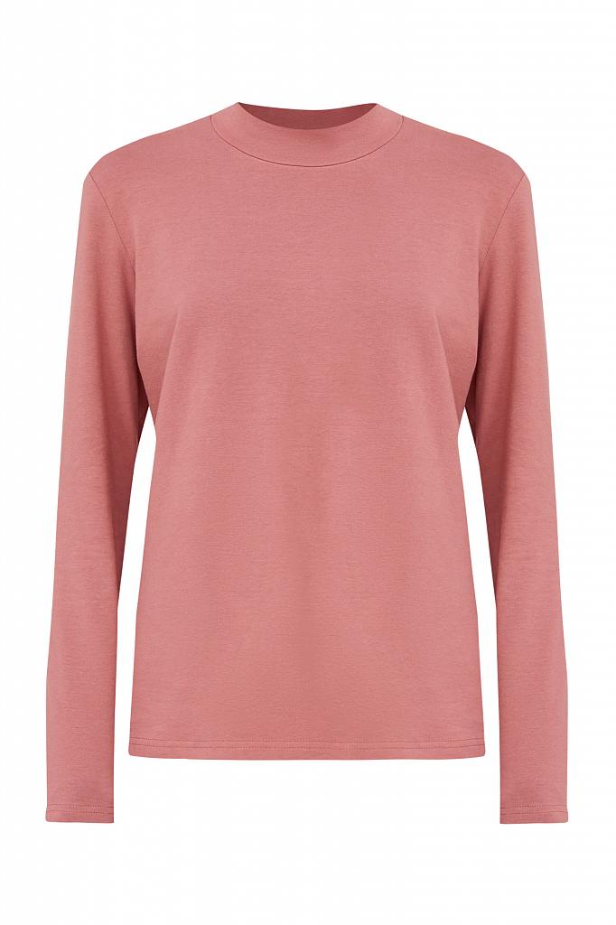 Фото 6 - футболка женская темно-розового цвета
