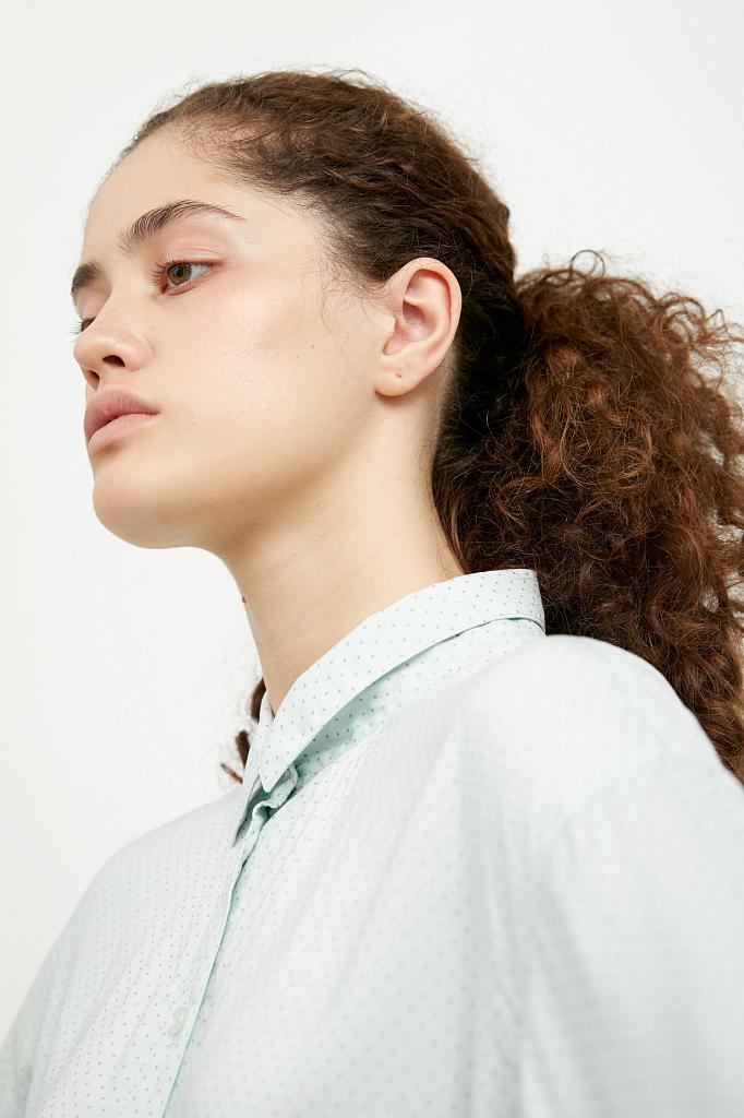 Фото - блузка женская светло-зеленого цвета
