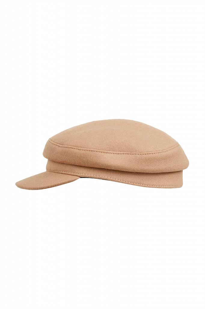кепи женское Finn-Flare бежевого цвета