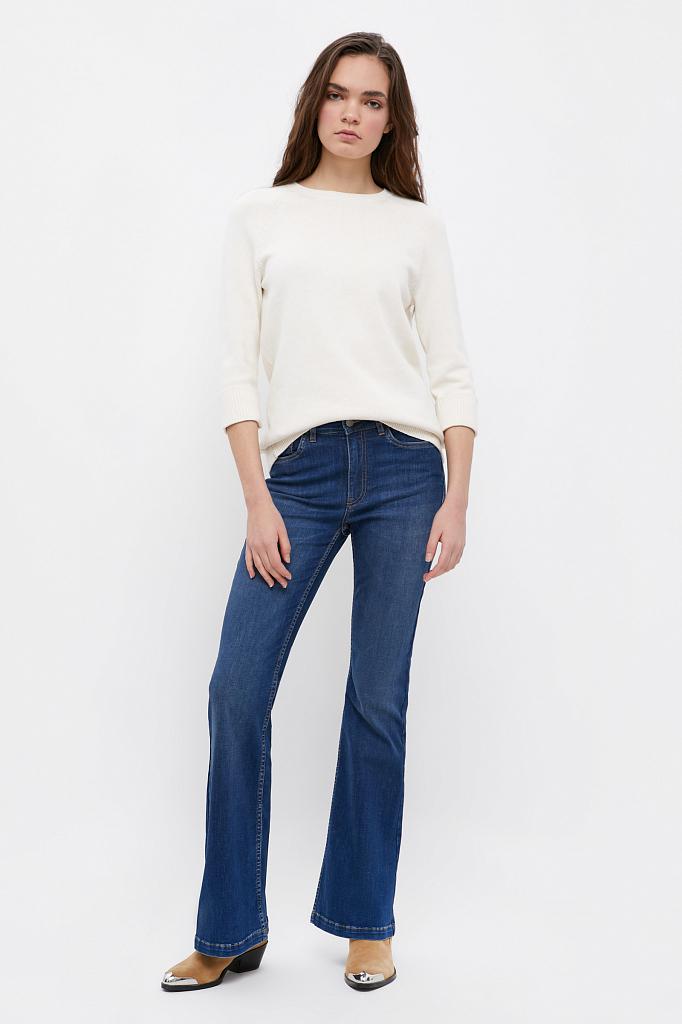 брюки женские (джинсы) Finn-Flare