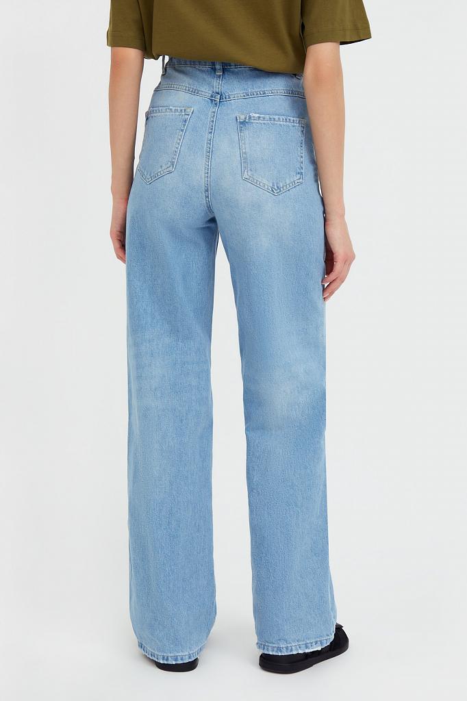 Фото 4 - джинсы женские голубого цвета