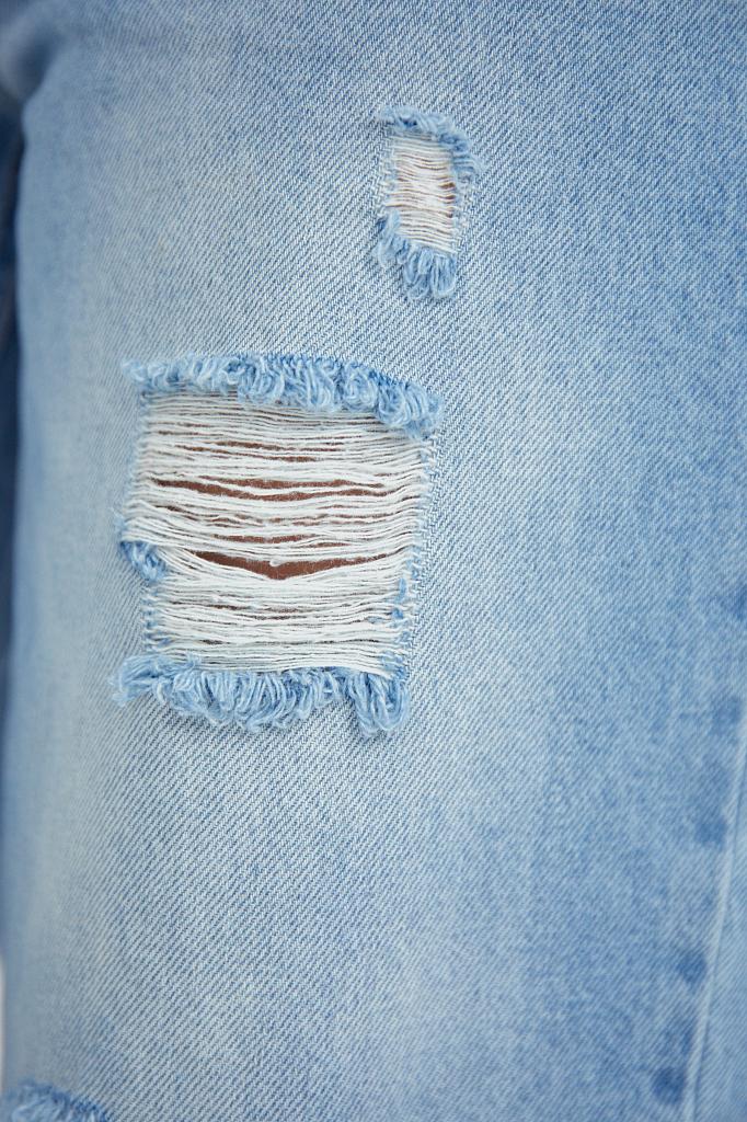 Фото 5 - джинсы женские голубого цвета