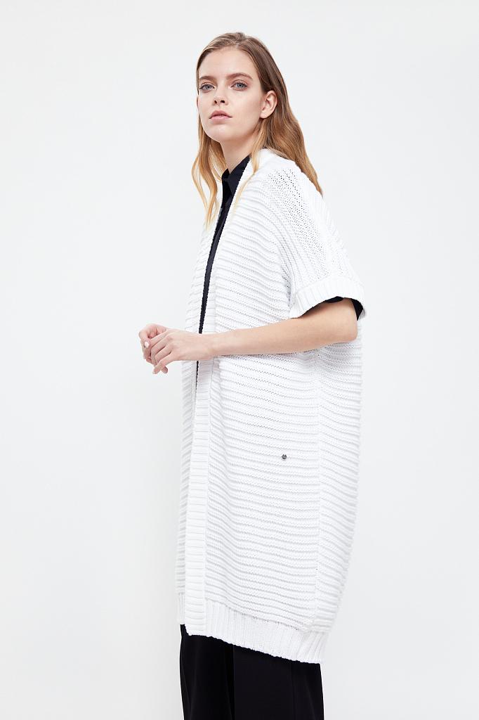 жакет женский Finn-Flare белого цвета