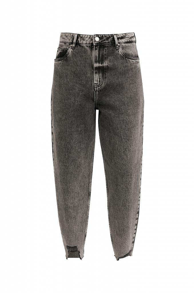Фото 6 - джинсы женские темно-серого цвета