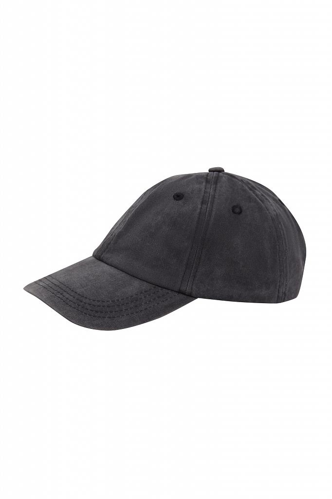 кепи мужское Finn-Flare темно-серого цвета