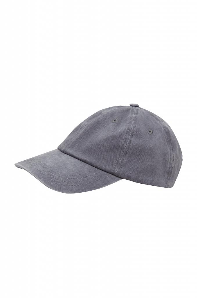 кепи мужское Finn-Flare серого цвета