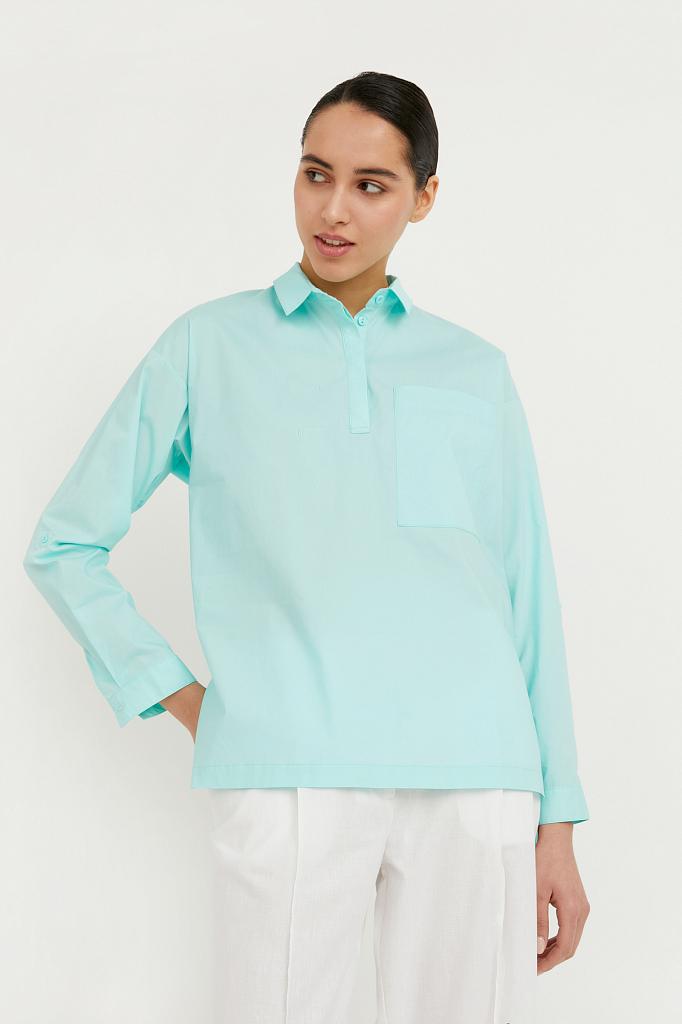 Фото - блузка женская цвет бежево-желудевый