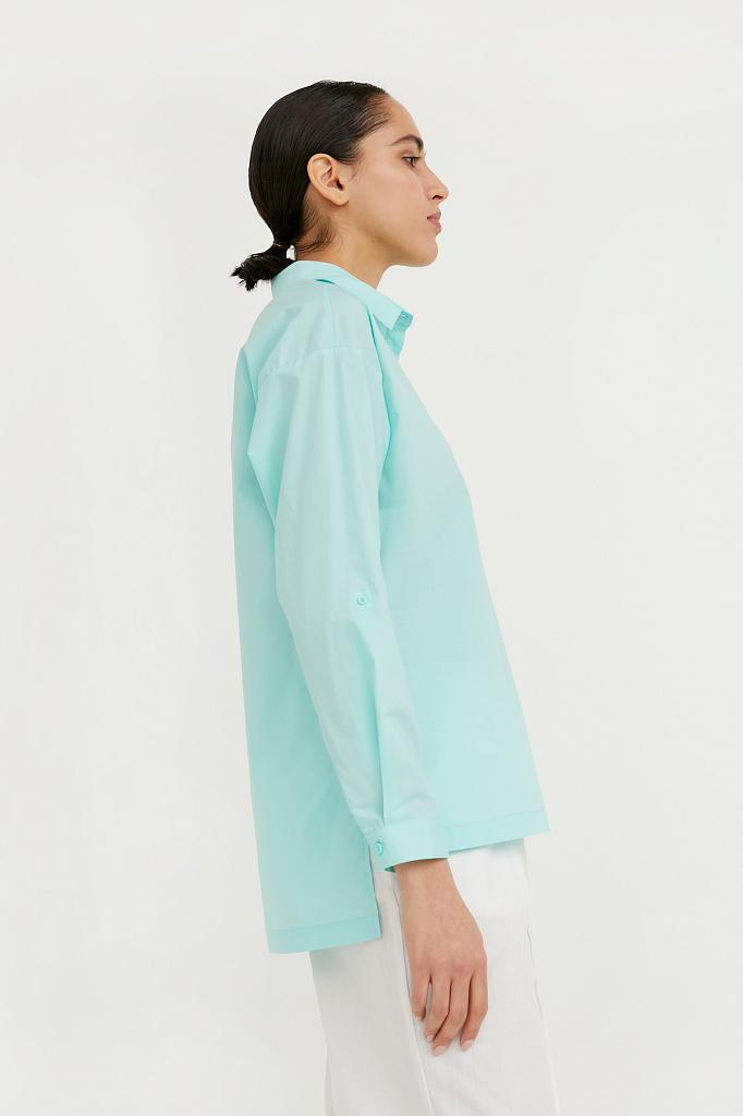 Фото 3 - блузка женская цвет бежево-желудевый