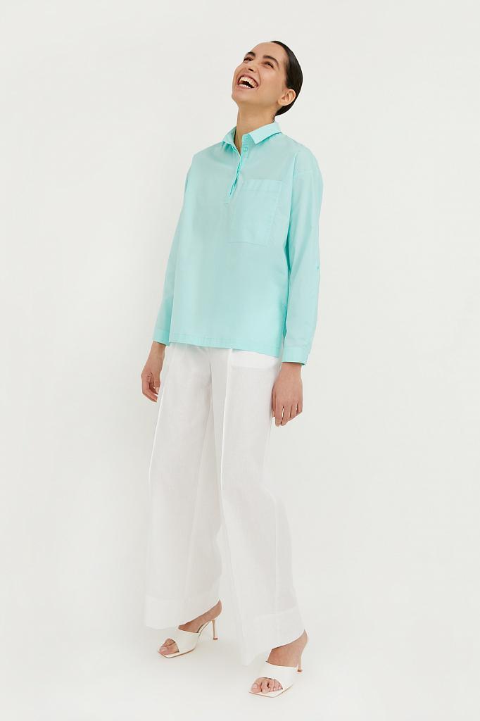 Фото 4 - блузка женская цвет бежево-желудевый