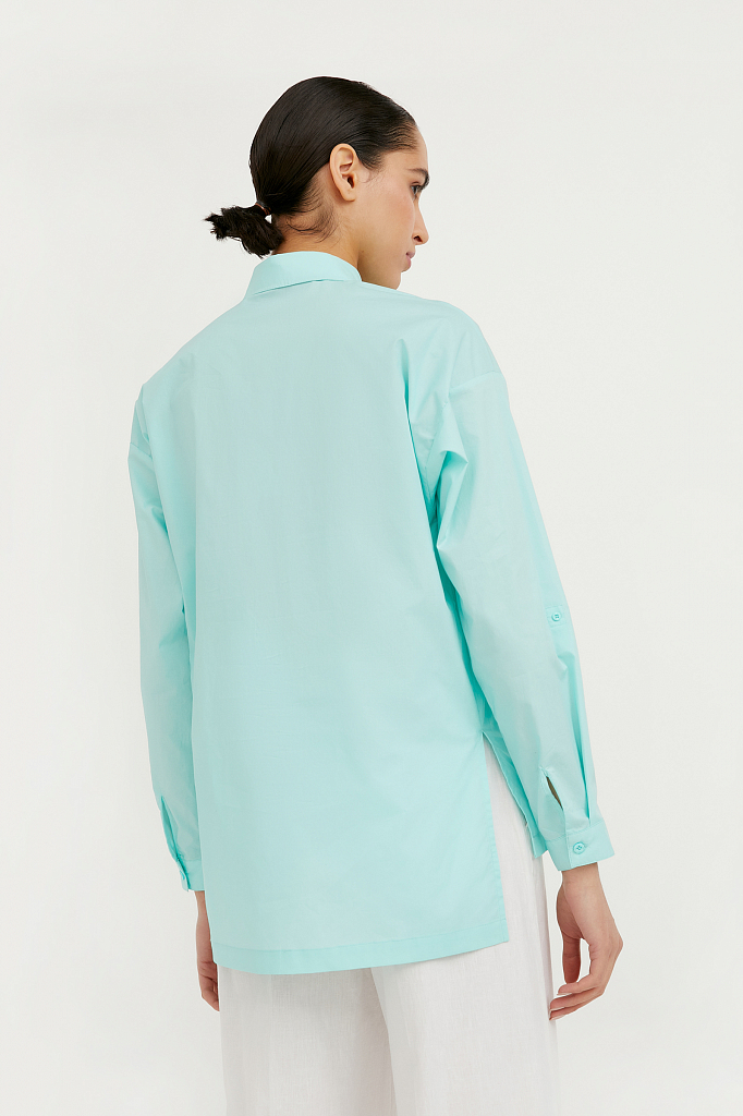 Фото 5 - блузка женская цвет бежево-желудевый