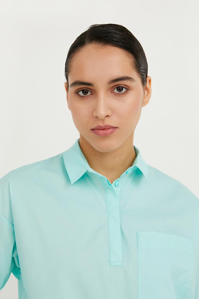 Фото 7 - блузка женская цвет бежево-желудевый