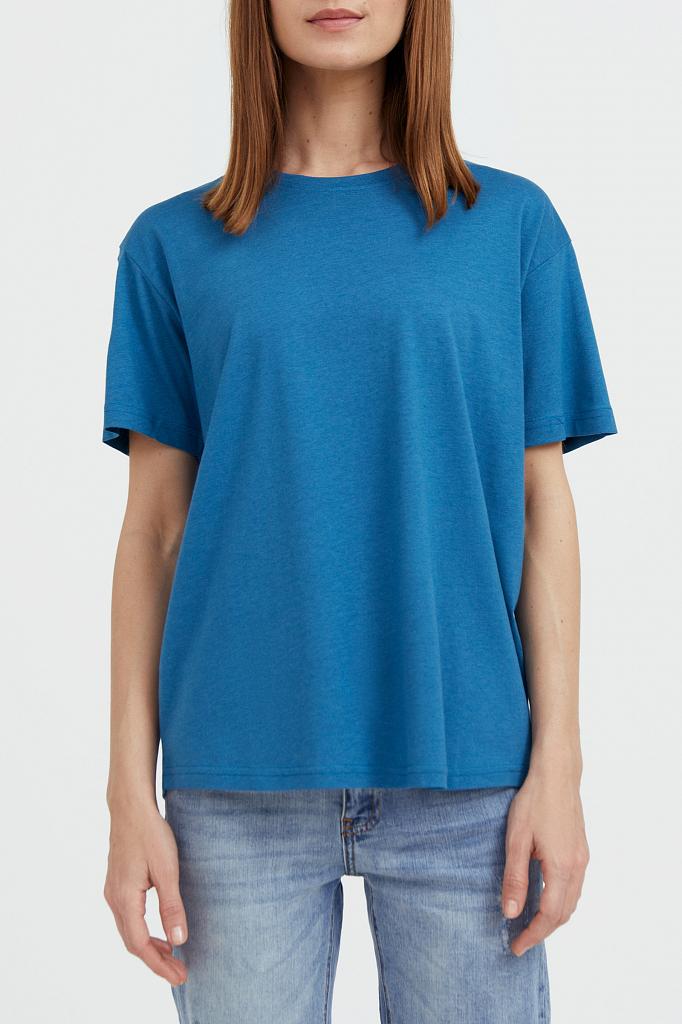 Finn-Flare базовая футболка с круглым вырезом
