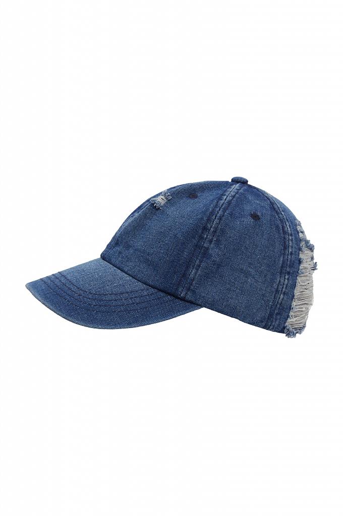 кепи женское Finn-Flare синего цвета