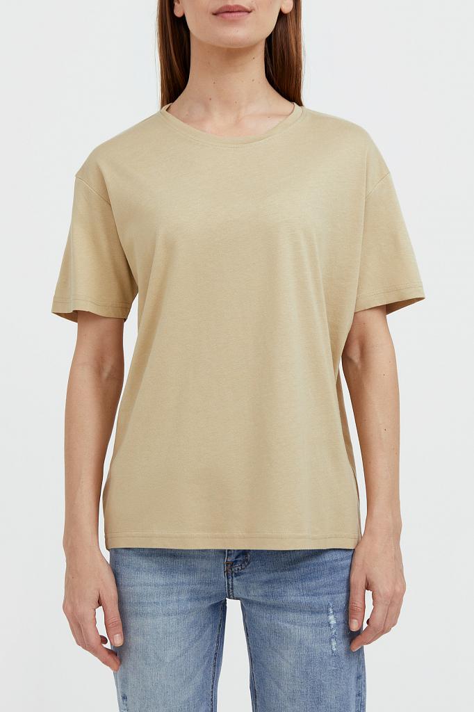базовая футболка с круглым вырезом