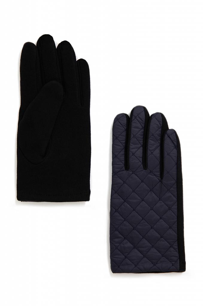 перчатки мужские Finn-Flare темно-синего цвета