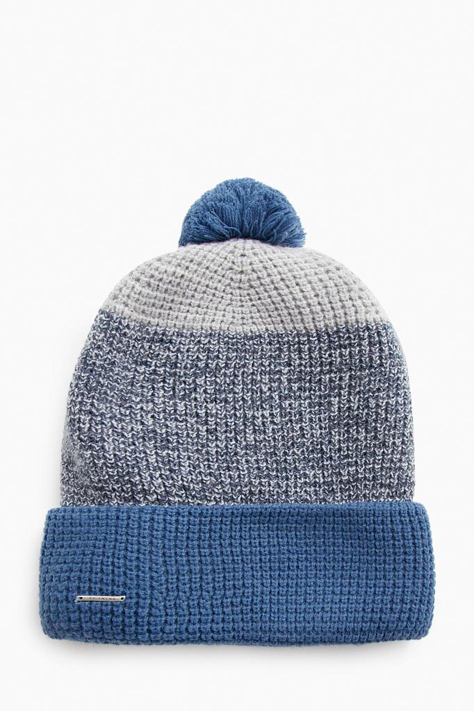шапка мужская Finn-Flare полуночно-синего цвета