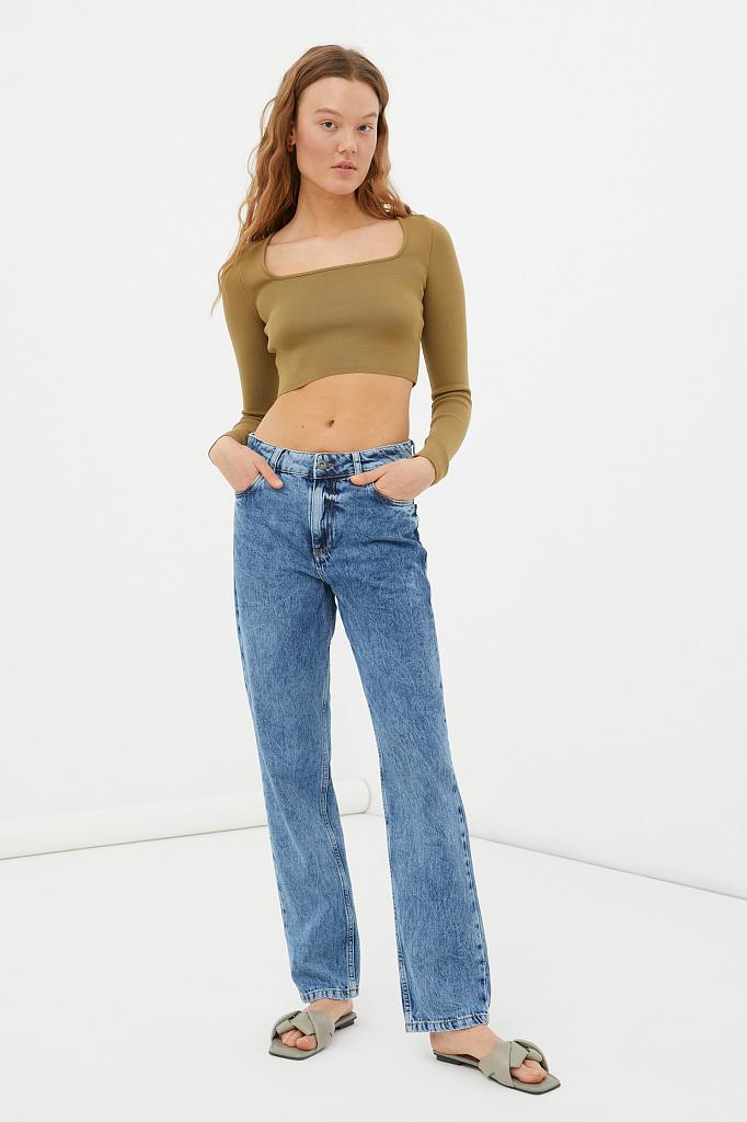 брюки женские (джинсы)