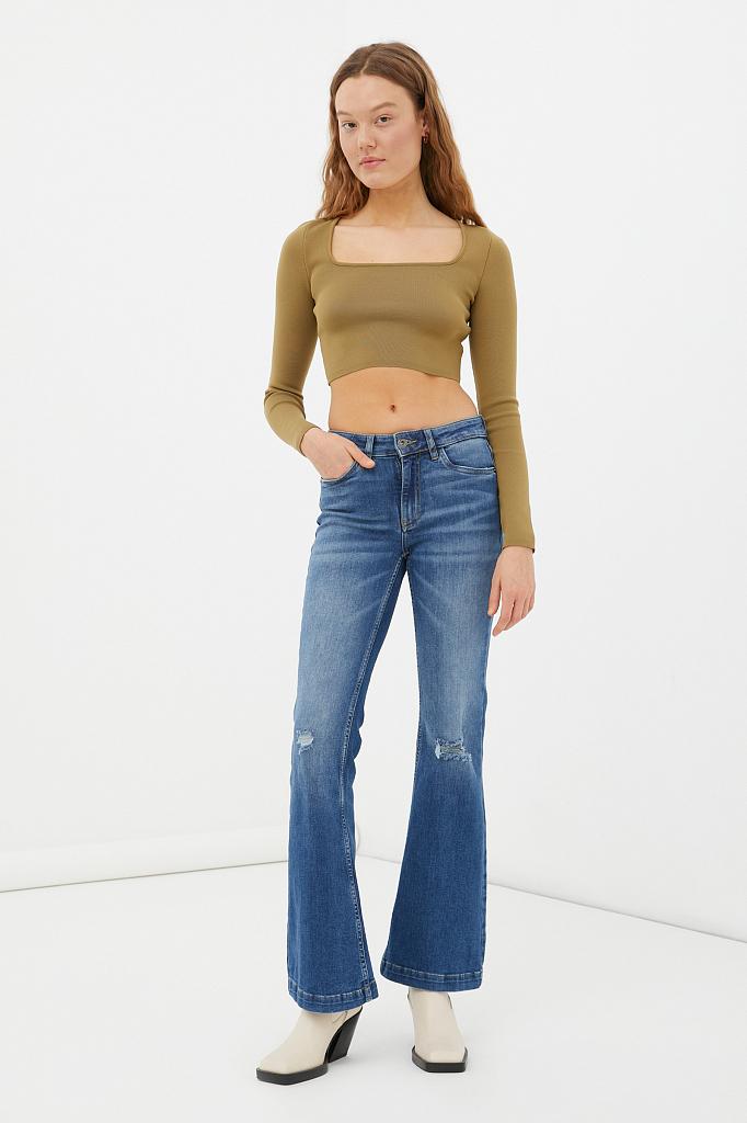джинсы женские bootcut fit