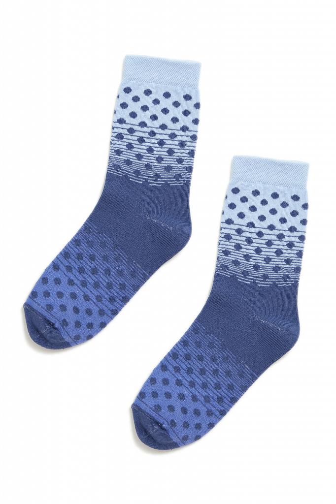 носки женские Finn-Flare голубого цвета