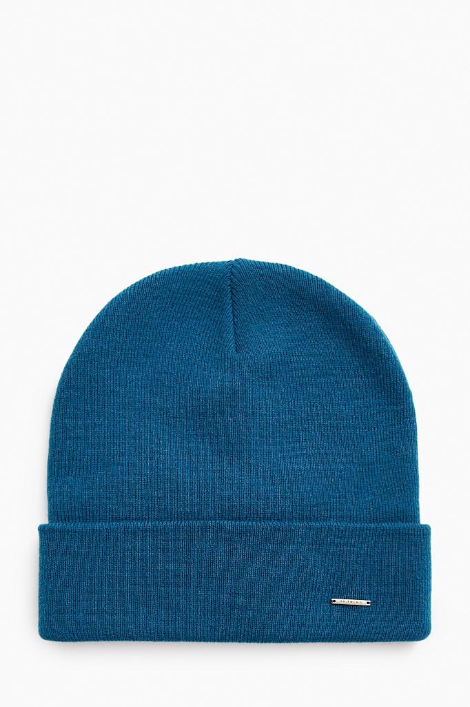 шапка мужская Finn-Flare цвет глубокий морской синий