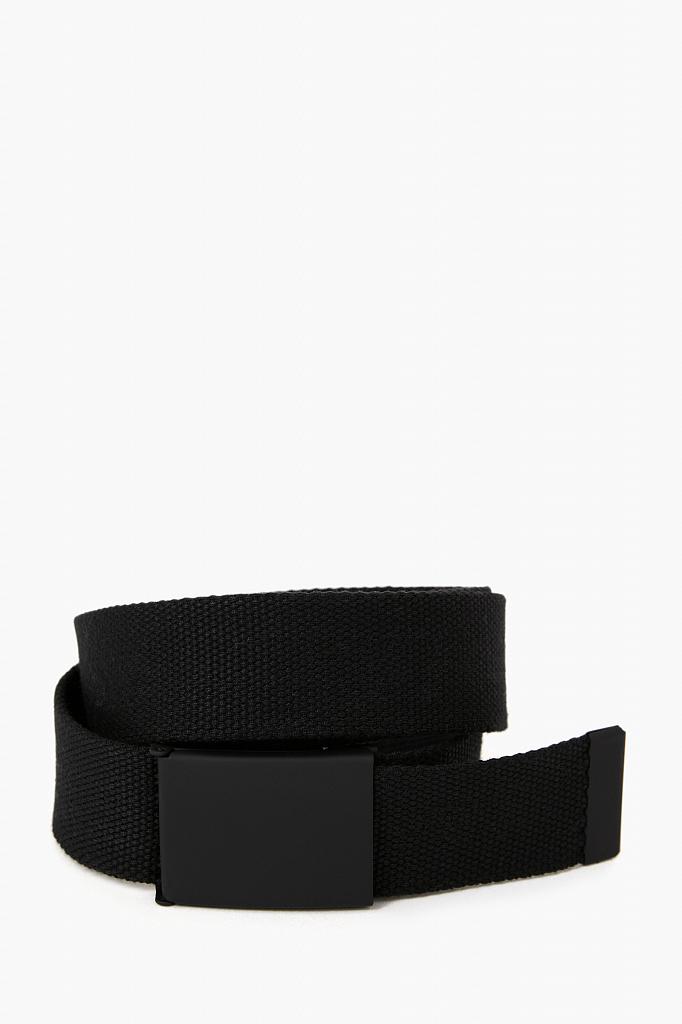 ремень мужской Finn-Flare черного цвета