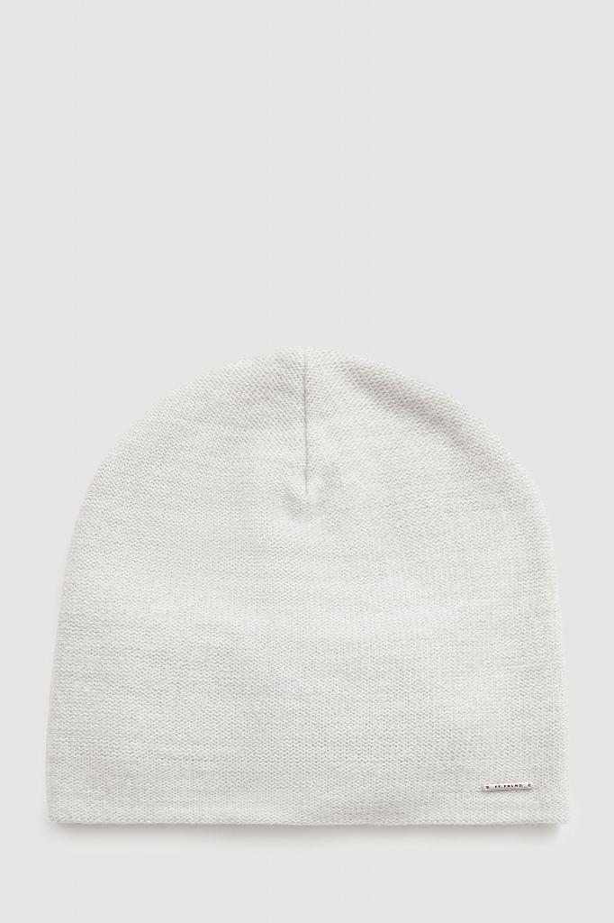 шапка мужская Finn-Flare светло-серого цвета
