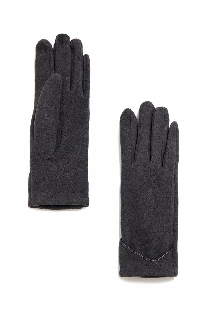 перчатки женские Finn-Flare цвета серый меланж