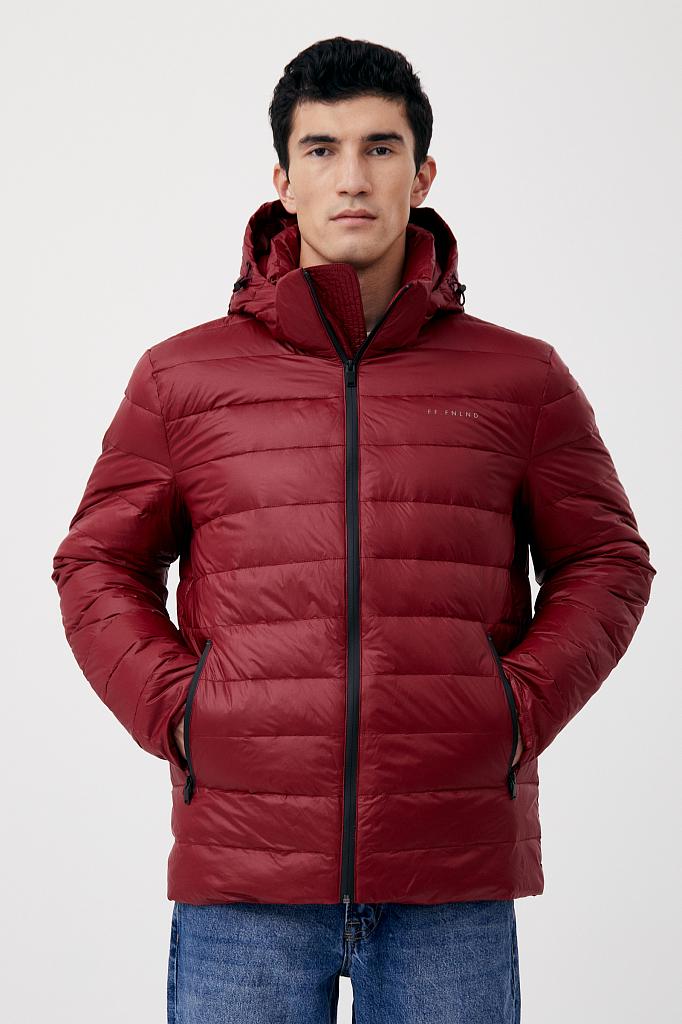 куртка мужская Finn-Flare цвет вишневый