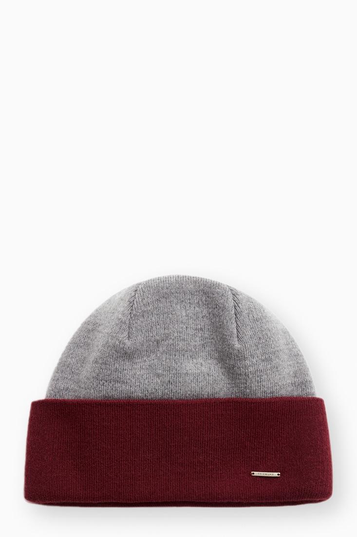 шапка мужская Finn-Flare цвет вишневый