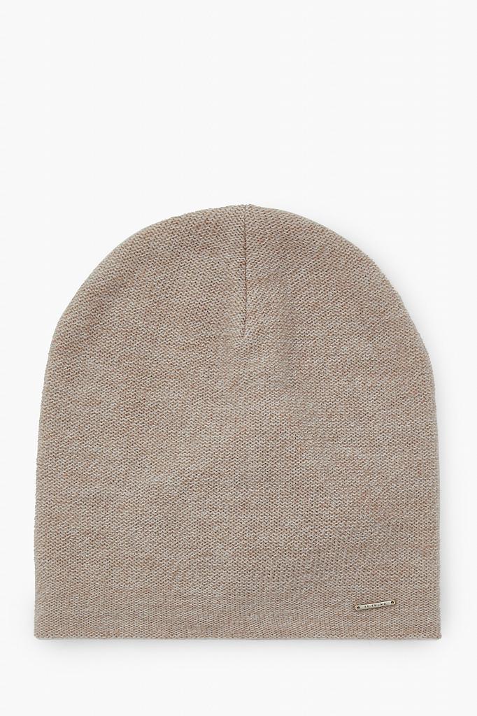 шапка мужская Finn-Flare темно-бежевого цвета