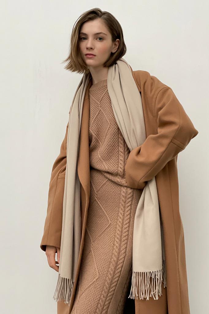 шарф женский Finn-Flare цвет 633 cobblestone