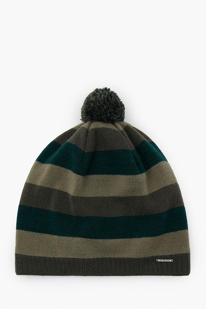шапка мужская Finn-Flare цвета хаки