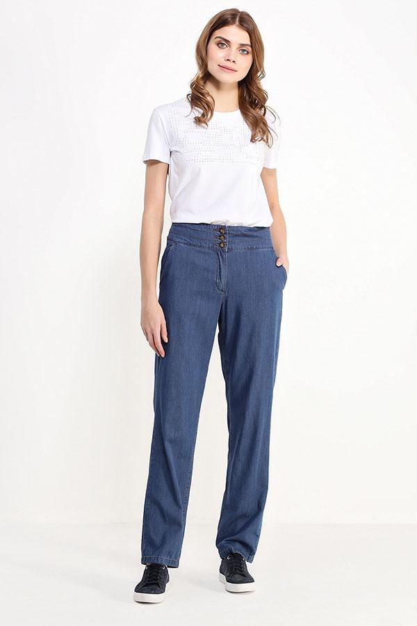 Фото 2 - джинсы женские синего цвета
