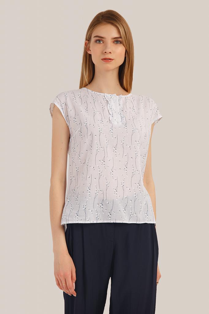 Фото - блузка женская белого цвета