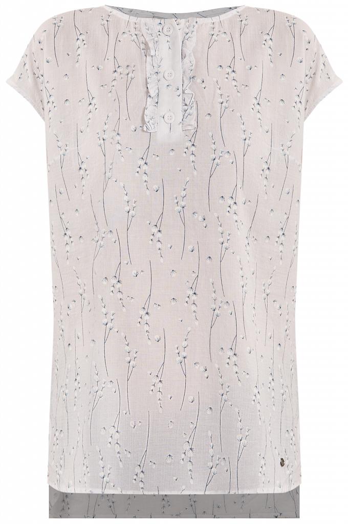 Фото 6 - блузка женская белого цвета