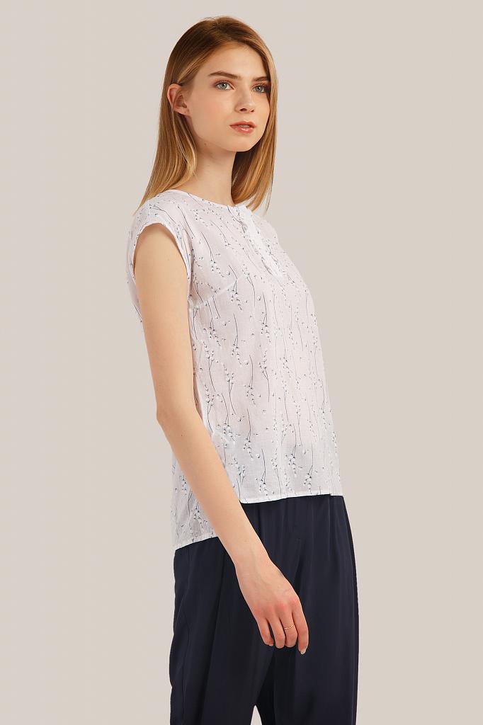 Фото 3 - блузка женская белого цвета