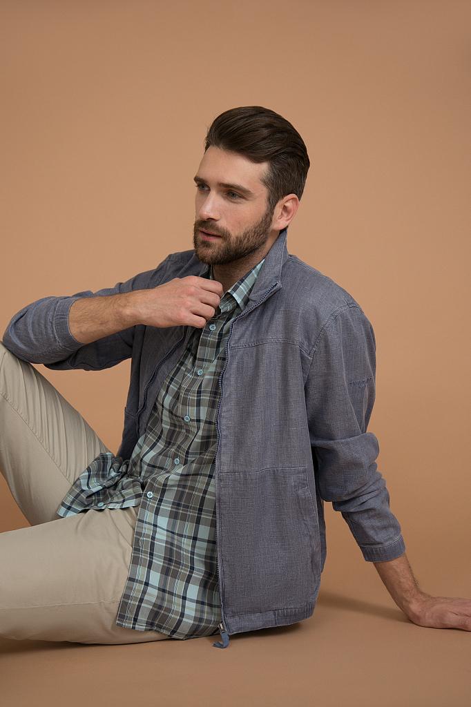 куртка мужская Finn-Flare голубого цвета