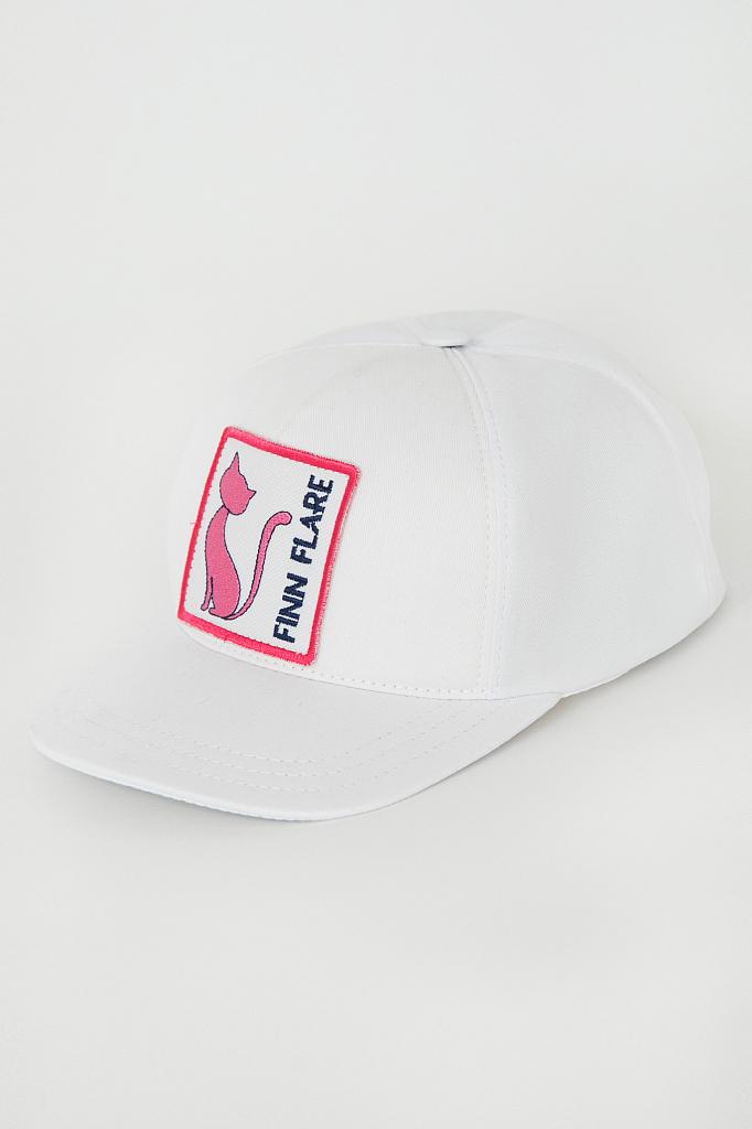 кепи женское Finn-Flare белого цвета