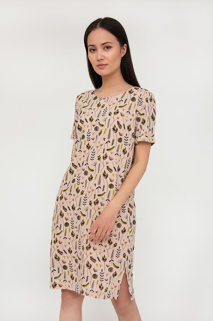 платье женское Finn-Flare бледно-розового цвета