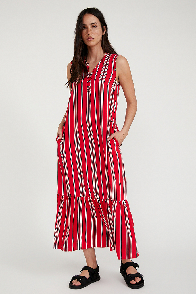 платье женское Finn-Flare цвет poppy