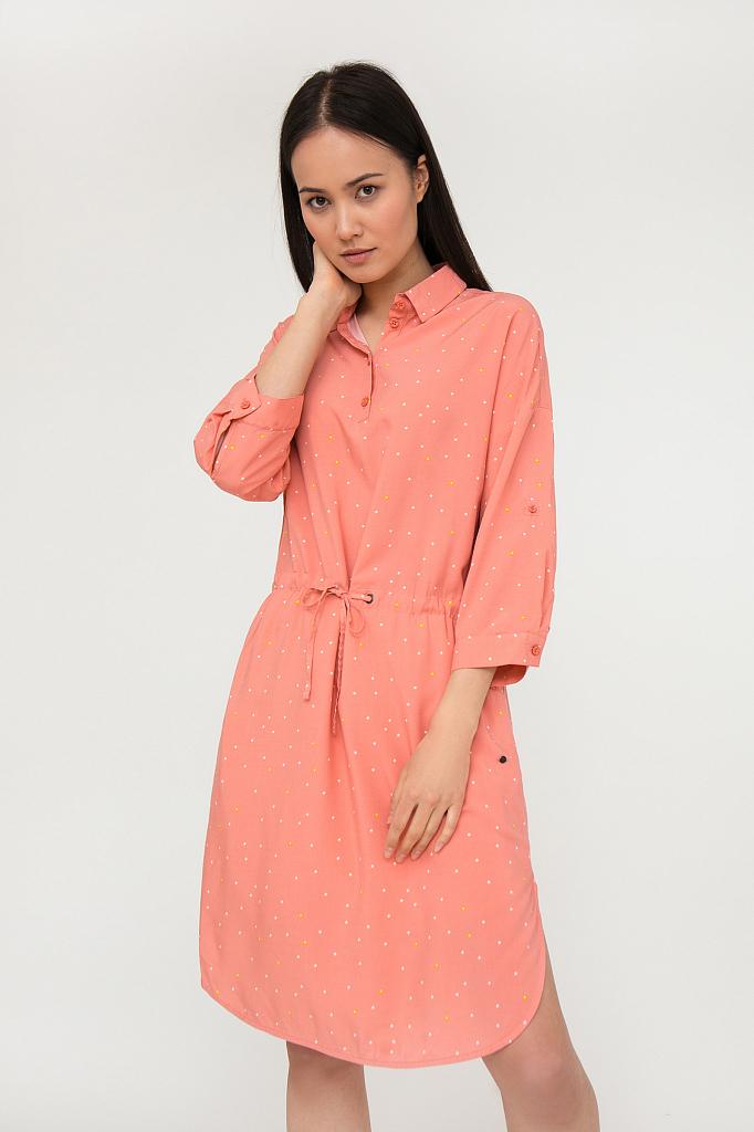 платье женское Finn-Flare розового цвета